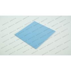 Термопрокладка силиконовая (100*100*1.50mm, 3.0 w/m-K) для ноутбуков (синяя)