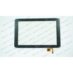 Тачскрин (сенсорное стекло) для Medion Lifetab E10315 (MD 98621), DY-F-10108-V2, 10.1, внешний размер 259*169 мм, рабочий размер 218*137 мм, 12 pin, черный