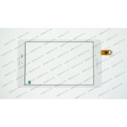 Тачскрин (сенсорное стекло) для Texet x-force 8 3g (TM-8048), FPCA-80A09-V03, 8, внешний размер 212*123 мм, рабочий размер 174*109 мм, 6pin, белый