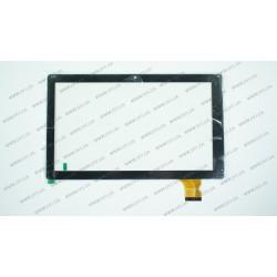 Тачскрин (сенсорное стекло) DH-1014A2-CG-FPC052,  10,1,  внешний размер 251*150 мм, рабочий размер 223*126 мм., 45pin, черный