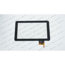 Тачскрин (сенсорное стекло) для Assistant AP-901, 300-N3849B-A00-V1.0, 9, размер 233*141 мм, 12 pin, черный, камера с правой стороны