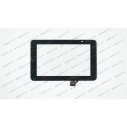 Тачскрин (сенсорное стекло) GKC0469A, 7, внешний размер 190*118 мм, рабочий размер 155*91мм, черный