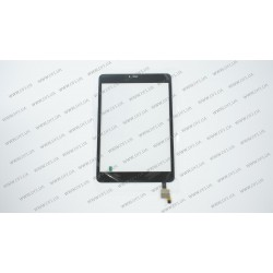 Тачскрин (сенсорное стекло) для Verico Uni Pad JO-UQM10A, XCL-S78012B-FPC1.0, 7,85, внешний размер 198*132 мм, рабочий размер 161*121 мм, черный