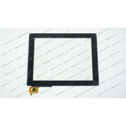 Тачскрин (сенсорное стекло) TF0075B, 9,7, размер 232*183 мм, 6pin, черный