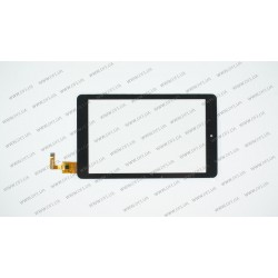 Тачскрин (сенсорное стекло) для Impression ImPAD 8213, AD-C-700594-FPC, 7, внешний размер 181*109 мм, рабочая часть 151*95 мм, 10pin, черный