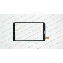 Тачскрин (сенсорное стекло) для Oysters T84HRi, TPC1560 ver3.0, 8, размер 204 х 118 мм, 39 pin, черный