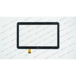 Тачскрин (сенсорное стекло) для Nomi C10102 Terra+, GT10PGX10 , 10,1, внешний размер 247*156 мм, рабочий размер 224*126 мм, 30 pin, черный