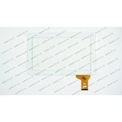 Тачскрин (сенсорное стекло) FM101301KA, 10,1, внешний размер 257*160 мм, рабочая часть 224*127 мм, 50pin, белый