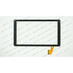 Тачскрин (сенсорное стекло) для Nomi А10101 VTC5010A18-FPC-3.0, 10, внешний размер 254*146 мм, рабочий размер 223*126 мм, 50pin, черный