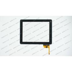 Тачскрин (сенсорное стекло) для AD-C-970436-FPC, 9,7, размер 236x183 мм, 12 pin, черный