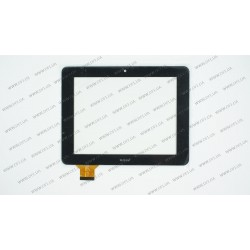 Тачскрин (сенсорное стекло) C177137A1-PG FPC647DR, 7, размер 176*137 мм, 40 pin, черный