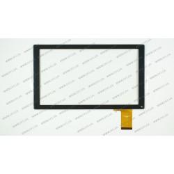 Тачскрин (сенсорное стекло) DH-1035A1-PG-FPC129, 10,1, внешний размер 251*147 мм, рабочая часть 222*125 мм, 50pin, черный
