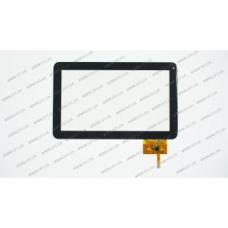 Тачскрин (сенсорное стекло) для Ployer Momo 10s, DTR 300-N3765A-C00, 10, внешний размер 256*159 мм, рабочая часть 223*125 мм, 12pin, черный