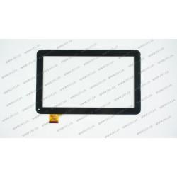 Тачскрин (сенсорное стекло) для WJ608-V1.0, 10,1, внешний размер 257*159 мм, рабочий размер 224*126 мм, 45pin, черный