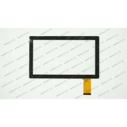 Тачскрин (сенсорное стекло) CTP-016B, 7, внешний размер 173*105 мм, рабочая часть 154*86 мм, 36pin, черный