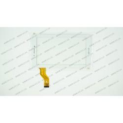Тачскрин (сенсорное стекло) FPC-CY070160-00, 7, внешний размер 186*105 мм, рабочий размер 155*86 мм, 30pin, белый