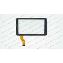 Тачскрин (сенсорное стекло) FM710301KA, 7, внешний размер 186*105 мм, рабочий размер 155*86 мм, 30pin, черный