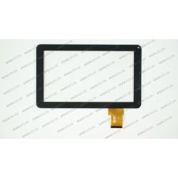 Тачскрин (сенсорное стекло) для Reellex Tab-97b-02, 300-N3849M-A00-V1.0, 9, размер 233x141мм, 50pin, черный