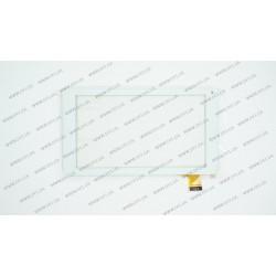 Тачскрин (сенсорное стекло) XC-PG0700-028-A2-FPC, 7,размер внешний 186*104 мм, рабочая часть 155*87 мм., 30pin, белый