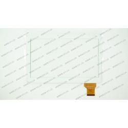 Тачскрин (сенсорное стекло) для Assistant AP-115G, ZJ-10019A, 10,1, внешний размер 240*163 мм, рабочая часть 224*127 мм.,  50pin, белый