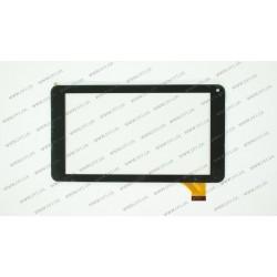 Тачскрин (сенсорное стекло) VTC5070A83-FPC-2.0, 7,размер внешний 186*104 мм, рабочая часть 155*87 мм., черный
