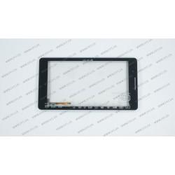 Тачскрин (сенсорное стекло) для Impression ImPAD 6414, MB708M5 HLD-PG719S-R1, 7, внешний размер 187*98 мм, рабочая часть 156*88 мм., 6pin, черный