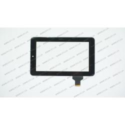 Тачскрин (сенсорное стекло) для Onda V711, HLD-PG706S, 7, размер 189x114мм., черный