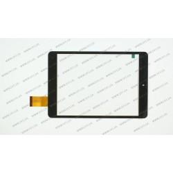 Тачскрин (сенсорное стекло) для Impression ImPAD 2313, FPC-79A1-V02, 7,85, внешний размер 196*131 мм, рабочий размер 161*121 мм., 40pin, черный