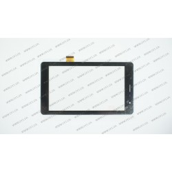 Тачскрин (сенсорное стекло) для Oysters 7X 3G, RS7F299D_V2.0, 7, размер 188*107 мм, 51 pin, черный