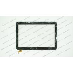 Тачскрин (сенсорное стекло) для PiPo M9 Pro, WGJ10136-v1, 10.1, размер 244*170 мм, 6 pin, черный