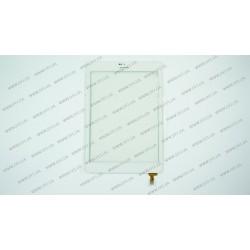 Тачскрин (сенсорное стекло) 80701-0A4791C, 7,85, внешний размер 198*134 мм, рабочий размер 161*121 мм, 10pin, белый
