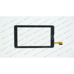 Тачскрин (сенсорное стекло) для Nomi C07003, CZY6948A01-FPC, 7, внешний размер 184*104 мм, рабочий размер 155*87 мм, 30pin, черный