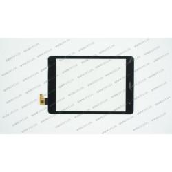 Тачскрин (сенсорное стекло) для Texet TM-7855, CTP078047-03, 7,85, внешний размер 198*133 мм, рабочий размер 160*120 мм, 10pin, черный