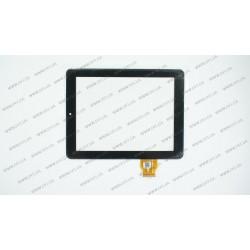 Тачскрин (сенсорное стекло) для Explay Informer 804, DPT 300-L3759A-A00-V1.0, 8, размер 196x150 мм, черный