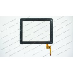 Тачскрин (сенсорное стекло) TOPSUN_E0011_A2, 9,7, внешний размер 236*183 мм, рабочая область 197*148 мм, 12 pin, черный