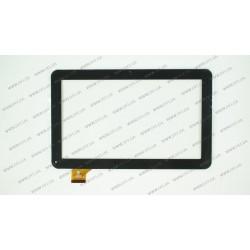 Тачскрин (сенсорное стекло) HK10DR2438-V01, 10,1,  внешний размер 257*159 мм, рабочая часть 223*126 мм, черный