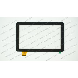 Тачскрин (сенсорное стекло) для Ainol Novo 10, QSD 701-10059-02, 10,1, внешний размер 257*159 мм, рабочий размер 224*126 мм, 45 pin, черный