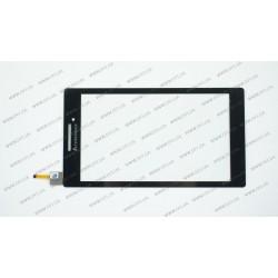 Тачскрин (сенсорное стекло)  для LENOVO TAB 2 A7-10, A7-20  0.7, черный