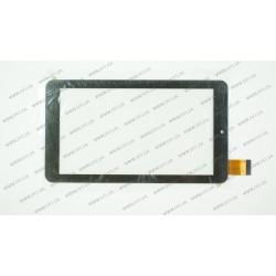 Тачскрин (сенсорное стекло) для X-digital TAB 711 3G, JNS-36-03, 7, внешний размер 184*104 мм, рабочий размер 156*88 мм, 30pin, черный