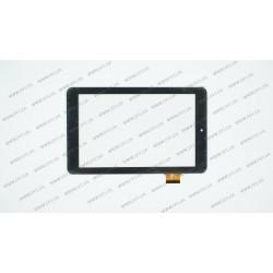 Тачскрин (сенсорное стекло) FPC-UP070257A1-V01, 7, внешний размер 181*112 мм, рабочий размер 151*95 мм, 36pin, черный