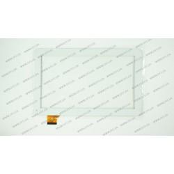 Тачскрин (сенсорное стекло) FM102101KA, 10,1, внешний размер 257*159 мм, рабочий размер 224*126 мм, 45pin, белый