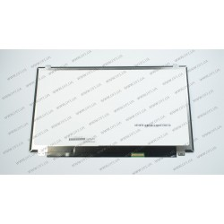 Матрица 15.6 LTN156FL02 (3840*2160, 40pin(eDP, IPS), LED, SLIM(вертикальные ушки), глянец, разъем справа внизу) для ноутбука