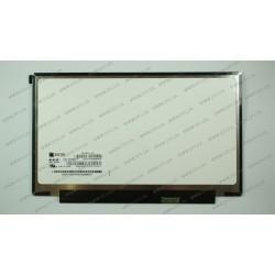 Матрица 12.5 HB125WX1-200 (1366*768, 30pin(eDP), LED, SLIM(без планок и ушек), матовая, разъем справа внизу, for Lenovo X230, X240) для ноутбука