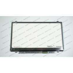Матрица 14.0 N140FGE-LA2 (1600*900, 40pin, LED, SLIM (вертикальные ушки), матовая, разъем справа внизу) для ноутбука