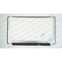 Матрица 15.6 N156BGE-E42 (1366*768, 30pin(eDP), LED, SLIM(вертикальные ушки), глянцевая, разъем справа внизу) для ноутбука