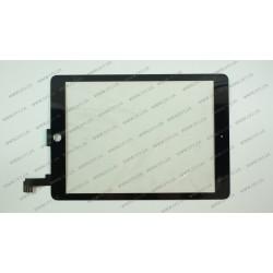 Тачскрин (сенсорное стекло) для Apple iPad 6 AIR 2, 9.7, черный