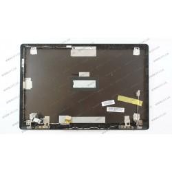 Крышка матрицы для ноутбука ASUS (N550 series), black, с петлями(под ноутбук без тачскрина), ОРИГИНАЛ