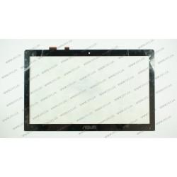 Тачскрин (сенсорное стекло) для Asus VivoBook S500CA, 15.6'', черный