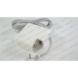 Блок питания для ноутбука APPLE MagSafe 14.5V, 3.1A, 45W, white, квадратный, (без переходника питания), T-образный разъём MagSafe