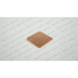 Медная подкладка (15*15*0.5мм, 384 w/m-K) для ноутбуков